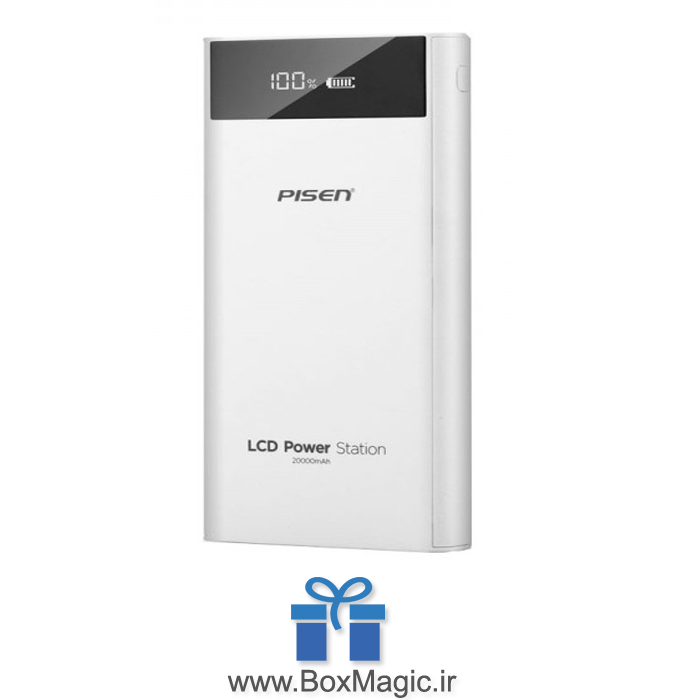 پاوربانک-20000-میلی-آمپر-پایزن-PISEN-LCD-Power-Station-ECO-20000mAh-TS-D199